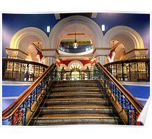 Victorian Majesty- The Queen Victoria Building , Sydney Australia Poster