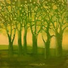study #1 Sap green by Rachel  Aponte