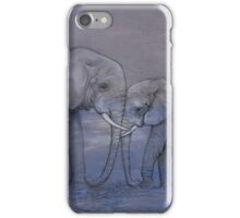 Elephant Love iPhone Case/Skin