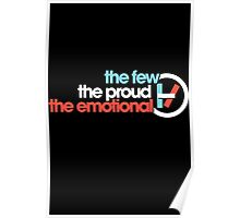 The Few, the Proud, the Emotional Poster