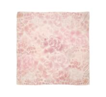 Pink and Soft Red Roses  Scarf