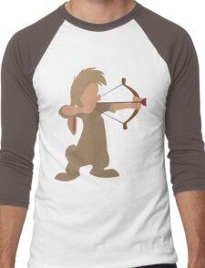 "Nibs Bow and ""Arrow"" Men's Baseball ¾ T-Shirt"