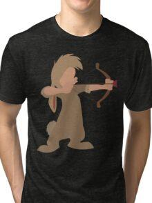 "Nibs Bow and ""Arrow"" Tri-blend T-Shirt"