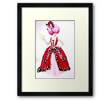 Marie A - eat your heart out! Framed Print
