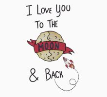ToThe Moon and Back - Colour Baby Tee