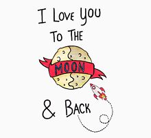 ToThe Moon and Back - Colour Unisex T-Shirt