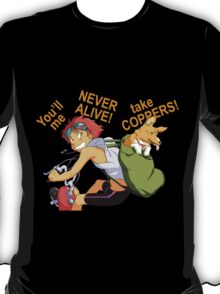 cowboy bebop edward anime manga shirt T-Shirt