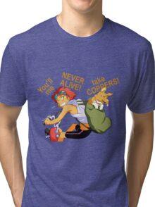 cowboy bebop edward anime manga shirt Tri-blend T-Shirt