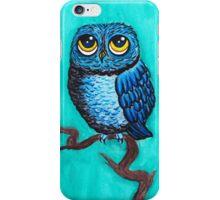 Blue Owl iPhone Case/Skin