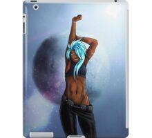 Synthetic Azure iPad Case/Skin