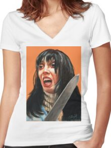 The Shining Women's Fitted V-Neck T-Shirt