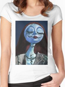 The Nightmare before Christmas - Sally Women's Fitted Scoop T-Shirt
