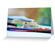 there are many little ways to enlarge your child's world...love of books is the best of all. Greeting Card