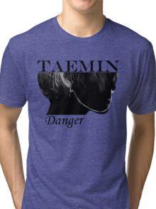Face Taemin - Danger Tri-blend T-Shirt