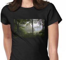 Foggy September Morning Womens Fitted T-Shirt