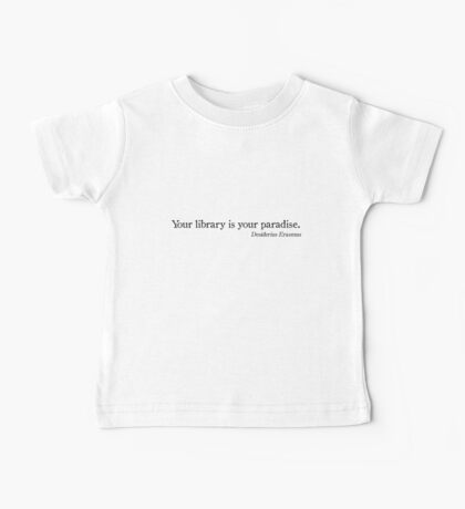 Library Paradise Baby Tee