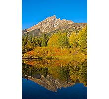 Fall Reflections in the Tetons Photographic Print