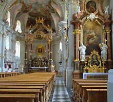 Interior - Wilten Basilika by CreativeUrge
