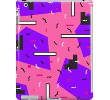 Retro pink pattern +:+:+ iPad Case/Skin
