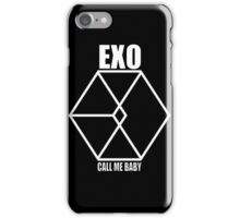 EXO Call me baby White iPhone Case/Skin