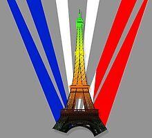 French Flag- Aromantic Pride by Jasmine-Murray