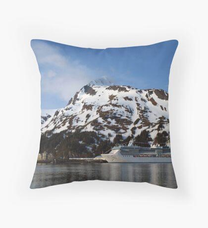 Trip to Valdez Throw Pillow