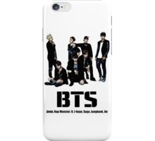 BTS Bangtan Boys iPhone Case/Skin
