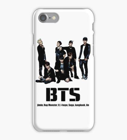 BTS Bangtan Boys iPhone Case/Skin