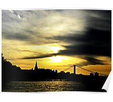 Riviera Sunset Poster