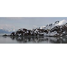 College Fjord Photographic Print