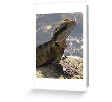 Senior Water Dragon Greeting Card