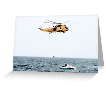 RAF Search and Rescue  Greeting Card
