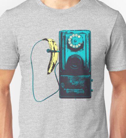 Vintage Banana Public Telephone Unisex T-Shirt