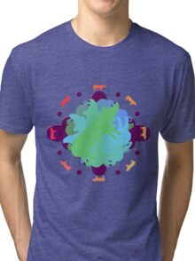 World of Pigs Tri-blend T-Shirt