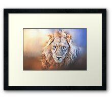 The King! Framed Print