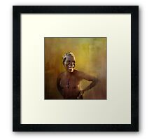 The San people! Framed Print