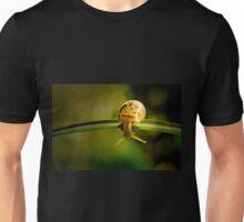 Snail doing gymnastics Unisex T-Shirt