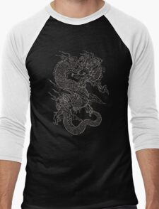 Vintage Dragon  Men's Baseball ¾ T-Shirt