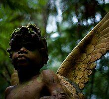 William Ricketts - Cherub boy by Daniel Berends