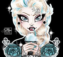 Frozen Mmmm by Miss Cherry  Martini