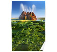Green Fly Geyser Poster