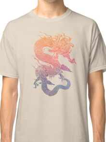 Colourful Chinese Dragon Classic T-Shirt