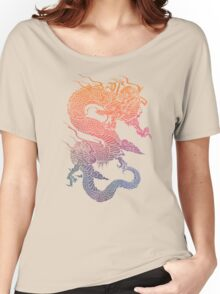 Colourful Chinese Dragon Women's Relaxed Fit T-Shirt
