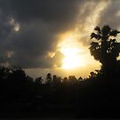 Sunrise and Storm Clouds by DAdeSimone