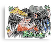 death to poachers Canvas Print
