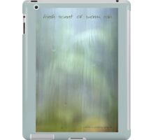 Fresh Scent of Summer Rain © Vicki Ferrari iPad Case/Skin