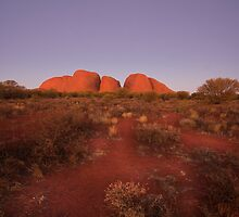 The Olgas, Uluru-Kata Tjuta National Park by lynruss