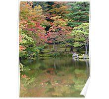 Kyoto Autumn Colours Poster