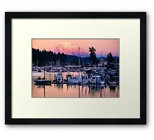 Gig Harbor Framed Print
