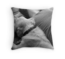 { man's best friend } Throw Pillow